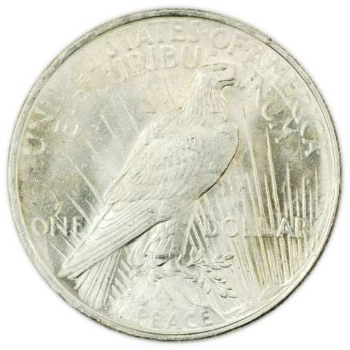 Peace Silver Dollars - Dates Vary
