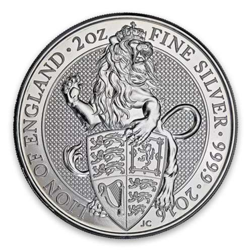 2016 2oz Britain Queen's Beasts: The Lion